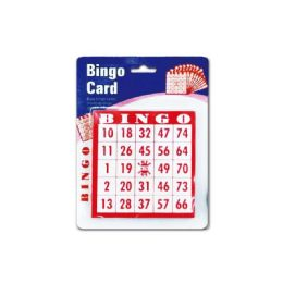 96 Bulk Bingo Card