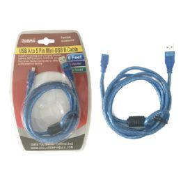 48 Bulk Usb A To 5 Pin MinI-Usb B Cable