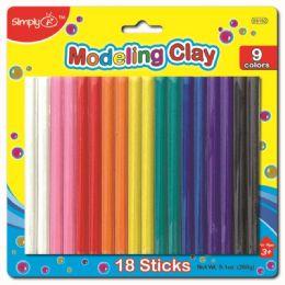 96 Bulk Nine Color Modeling Clay