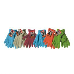 36 Bulk Winter Fleece Glove Women