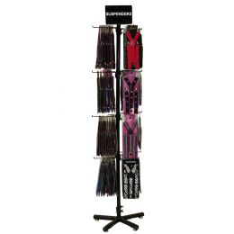 Bulk Assorted Fashion Suspender Set With Display
