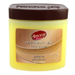 24 Bulk Amoray Petroleum Jelly 13oz Coco Butter