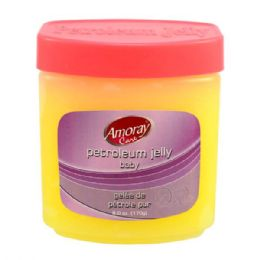 48 Bulk Amoray Petroleum Jelly 6oz Baby