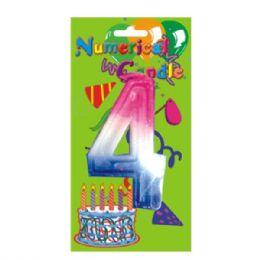 48 Bulk Numerical Candle #4