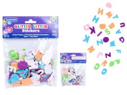 96 Bulk Craft Eva Foam Stickers 130pc