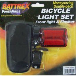 120 Bulk Bicycle Light Set