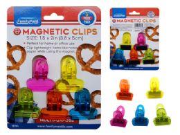 96 Bulk 5 Piece Multipurpose Magnetic Clips