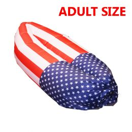 20 Bulk Bed 034 American Flag Inflatable Bed