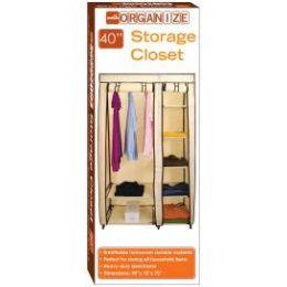 5 Bulk Storage Closet Beige And Brown