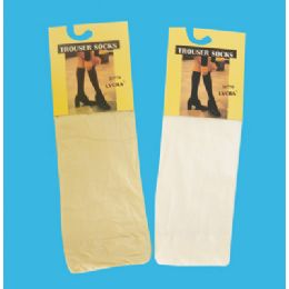 48 Bulk Women's Trouser Sock