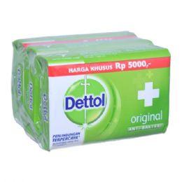 48 Bulk Dettol Soap 105g X 3 Pack Original