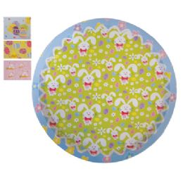 48 Bulk Easter Round Serving Tray