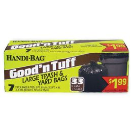 12 Bulk Handi Bag Good & Tuff Trash Bags