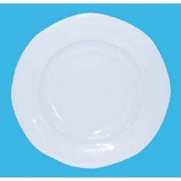 60 Bulk 8 Inch Melamine Scalloped Plate