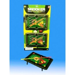 36 Bulk 2 Pieces Mini Pool Table In Blister Card