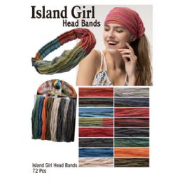 72 Bulk Island Girl Head Bands
