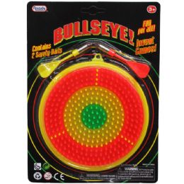 48 Bulk Dart Bulls Eye Dart Game Play Set In Blister Card