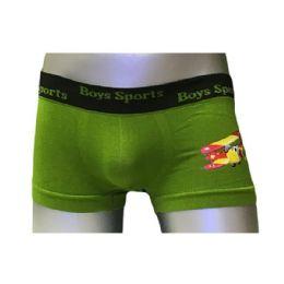 60 Bulk Boys Sports Seamless Boxer