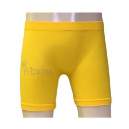 60 Bulk Femina Girls Seamless Shorts