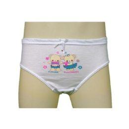 36 Bulk Strawberry Girls Cotton Panty Size Small
