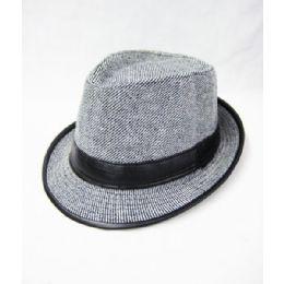 7c03e4abf39fd Wholesale Grey Fedora Hat - at - bluestarempire.com