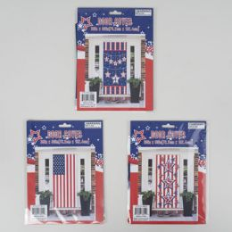 96 Bulk Door Cover Patriotic