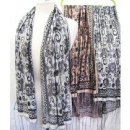 36 Bulk Printed Scarves