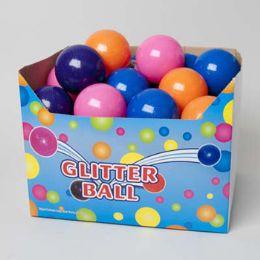 72 Bulk Bouncing Ball 4in Glitter