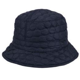 24 Bulk Quilted Stitch Bucket Hats