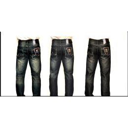 12 Bulk Mercelized Straight Leg Denim 100% Cotton