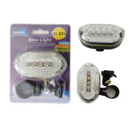 96 Bulk Bicycle Flashing Light, 5 Led