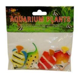 240 Bulk 4 Piece Artificial Aquarium Fish Assorted Style