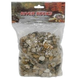 24 Bulk River Stone Small Size 9x4 In 800grm