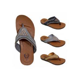 30 Bulk Women's Rhinestones Slippers