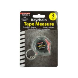 72 Bulk Mini Tape Measure Key Chain