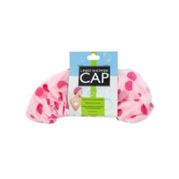 24 Bulk Microfiber Lined Shower Cap