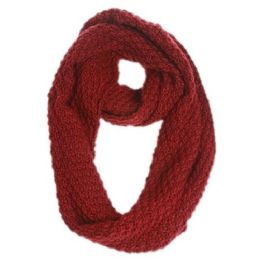 12 Bulk Cable Knit Infinity Scarf