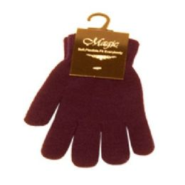 96 Bulk Magic Stretch Glove Assorted Color