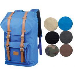 2 Bulk Canvas Backpack In Black