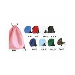 24 Bulk Solid Color Backpack In Black