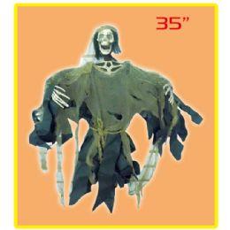 """12 Bulk 35""""hanging Ghost"""