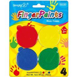 48 Bulk 4 Count Fingerpaiant