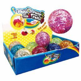 96 Bulk Glitter Ball