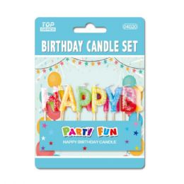 144 Bulk Birthday Candle Letters
