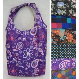 "72 Bulk 16.5""x16.5"" Nylon Printed Shopping Bag"