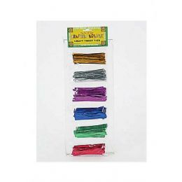 108 Bulk Metallic Twist Tie