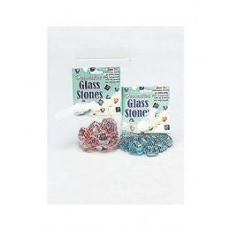 60 Bulk Stars And Hearts Glass Stones (assorted Colors)
