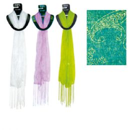 69 Bulk Scarf Assorted Colors 20x60""