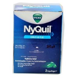 6 Bulk Nyquil 25 Count