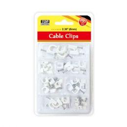 96 Bulk Cable Clip 6mm/120 Count